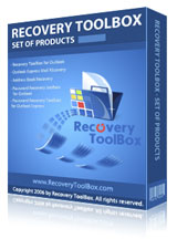 Boxshot of Products bundle of Recovery Toolbox