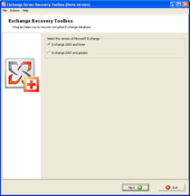 Click to view Exchange Server Recovery Toolbox screenshots