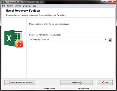 How to recovery damaged XLS, XLSX files of all Microsoft Excel versions?