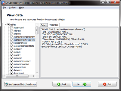 MySQL Recovery Toolbox - a tool for recovering MySQL server data