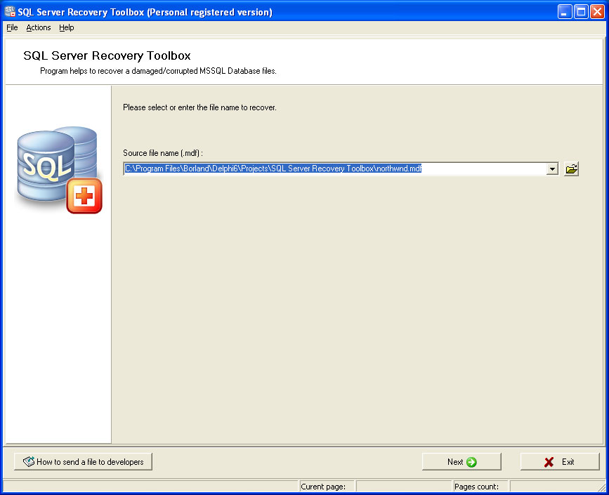SQL Server Recovery Toolbox