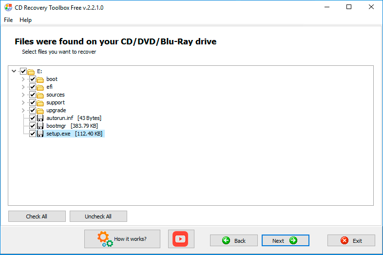 How to repair CD/DVD/Blu-Ray data from scratch disk?